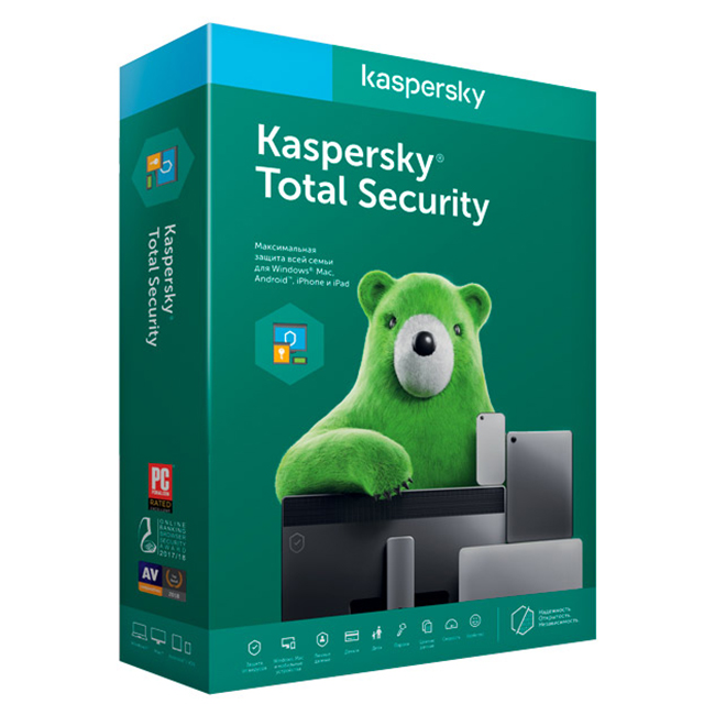 фото kaspersky total security (3 устройства на 1 год)