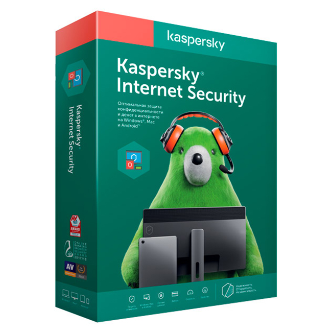 фото kaspersky internet security (3 устройства на 1 год)