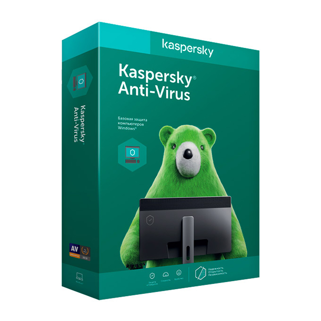 фото kaspersky anti-virus (2 пк на 1 год)